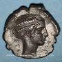 Monnaies Sicile. Ségeste. Didrachme, 412-400 av. J-C.