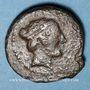 Monnaies Sicile. Ségeste. Triantes, 410-400 av. J-C.