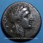 Monnaies Sicile. Syracuse. Agathocles (317-289 av. J-C). Tétradrachme