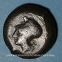 Monnaies Sicile. Syracuse. Dyonisos I (405-367 av. J-C). Drachme de bronze