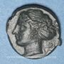 Monnaies Sicile. Syracuse. Hémilitron, vers 405 av. J-C, attribué à Eukleidas