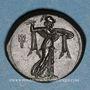 Monnaies Sicile. Syracuse. Pyrrhus d'Epire (vers 278-276 av. J-C). Bronze. 21,32-23,64 mm