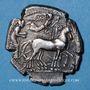 Monnaies Sicile. Syracuse. Tétradrachme, vers 450-439 av. J-C.