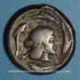Monnaies Sicile. Syracuse. Tétradrachme, vers 475-470 av. J-C