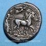 Monnaies Sicile. Syracuse. Tétradrachme, vers 480-475 av. J-C