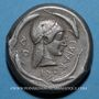 Monnaies Sicile. Syracuse (vers 480 av. J-C). Tétradrachme