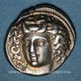 Monnaies Thessalie. Larissa. Drachme, vers 395-344 av. J-C