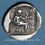 Monnaies Thessalie. Larissa. Trihémiobole, 500-479 av. J-C
