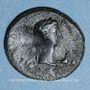 Monnaies Thrace. Rhoemetalces I, avec Auguste (11 av. - 12 ap. J-C). Bronze