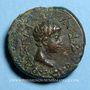 Monnaies Thrace. Rhoemetalces I, avec Auguste (11 av. - 12 ap. J-C). Unité