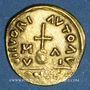 Monnaies Les Mérovingiens. Marseille. Trémissis de 7 siliques au nom de Maurice Tibère (582-602)