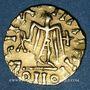 Monnaies Les Mérovingiens. Royaume franc de Bourgogne (vers 550/555 - 575-578). Trémissis. Autun (?)