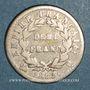 Monnaies 1er empire (1804-1814). 1/2 franc EMPIRE 1812Q Perpignan