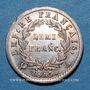 Monnaies 1er empire (1804-1814). 1/2 franc EMPIRE 1813 A