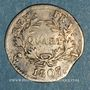 Monnaies 1er empire (1804-1814). 1/4 franc date grégorienne 1807L