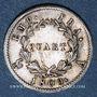 Monnaies 1er empire (1804-1814). 1/4 franc EMPIRE 1808 A