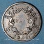 Monnaies 1er empire (1804-1814). 1/4 franc EMPIRE 1809A