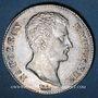 Monnaies 1er empire (1804-1814). 1 franc tête nue an 13 A