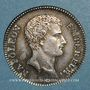 Monnaies 1er empire (1804-1814). 1 franc tête nue an 13A