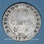 Monnaies 1er empire (1804-1814). 10 cmes 1809A