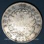 Monnaies 1er empire (1804-1814). 5 francs EMPIRE 1809K. Bordeaux