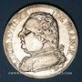 Monnaies 1ère restauration (1814-1815). 5 francs 1814A