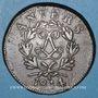 Monnaies 1ère restauration (1814-1815). Siège d'Anvers, 10 cmes 1814, R sous le ruban