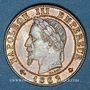 Monnaies 2e empire (1852-1870). 1 centime tête laurée 1862A