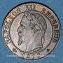 Monnaies 2e empire (1852-1870). 1 centime tête laurée 1870 A