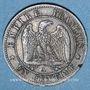 Monnaies 2e empire (1852-1870). 1 centime, tête nue, 1854A