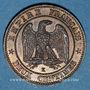Monnaies 2e empire (1852-1870). 2 centimes tête laurée 1862 K. Bordeaux