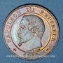 Monnaies 2e empire (1852-1870). 2 centimes, tête nue, 1853A
