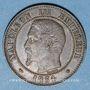Monnaies 2e empire (1852-1870). 2 centimes, tête nue, 1854BB. Strasbourg