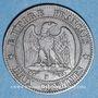 Monnaies 2e empire (1852-1870). 2 centimes, tête nue, 1855B. Rouen. Ancre