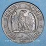 Monnaies 2e empire (1852-1870). 2 centimes, tête nue, 1856B. Rouen