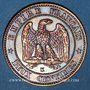 Monnaies 2e empire (1852-1870). 2 centimes, tête nue, 1856K. Bordeaux