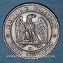 Monnaies 2e empire (1852-1870). 2 centimes, tête nue, 1857MA. Marseille