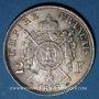 Monnaies 2e empire (1852-1870). 2 francs, tête laurée, 1869A