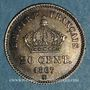 Monnaies 2e empire (1852-1870). 20 centimes tête laurée grand module 1867 BB. Strasbourg