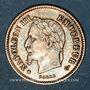 Monnaies 2e empire (1852-1870). 20 centimes, tête laurée, grand module, 1867BB. Strasbourg