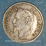 Monnaies 2e empire (1852-1870). 20 centimes tête laurée grand module 1867BB. Strasbourg