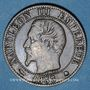 Monnaies 2e empire (1852-1870). 5 centimes, tête nue, 1853BB. Strasbourg