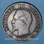 Monnaies 2e empire (1852-1870). 5 centimes, tête nue, 1853K. Bordeaux