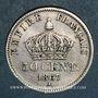 Monnaies 2e empire (1852-1870). 50 centimes tête laurée 1867A