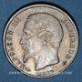 Monnaies 2e empire (1852-1870). 50 centimes, tête nue, 1859A