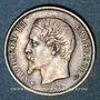 Monnaies 2e empire (1852-1870). 50 centimes, tête nue, 1860A