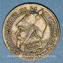 Monnaies 2e empire (1852-1870). Module de 5 centimes. Laiton argenté