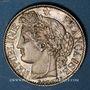 Monnaies 2e république (1848-1852). 1 franc 1849A