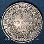 Monnaies 2e république (1848-1852). 1 franc 1851A