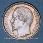 Monnaies 2e république (1848-1852). 1 franc Louis-Napoléon 1852A